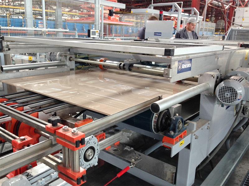 Производство керамогранитной плитки