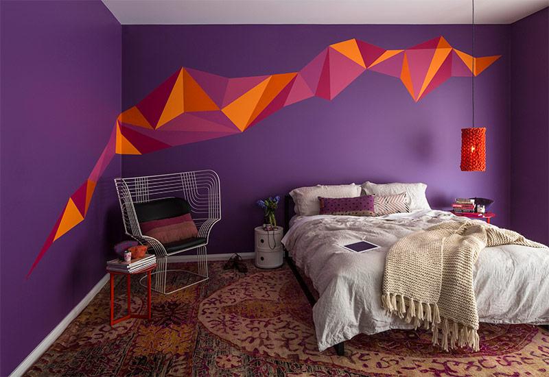 Краска для спальни или зала