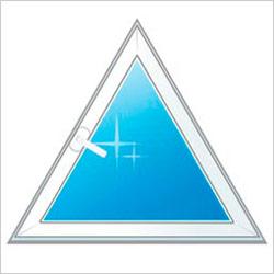 Треугольное окно