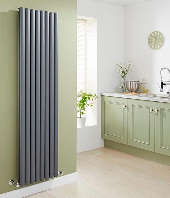 Дизайн радиатор в интерьере кухни