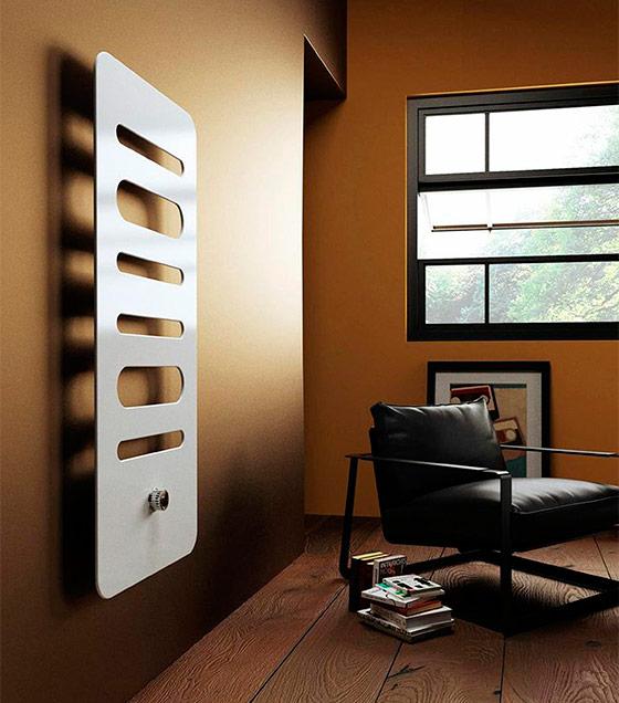 Дизайн радиатор в стиле хай-тек