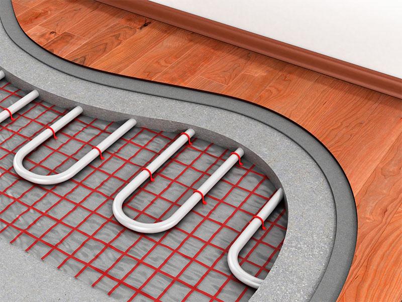 Использование ламината для финишного покрытия теплого пола
