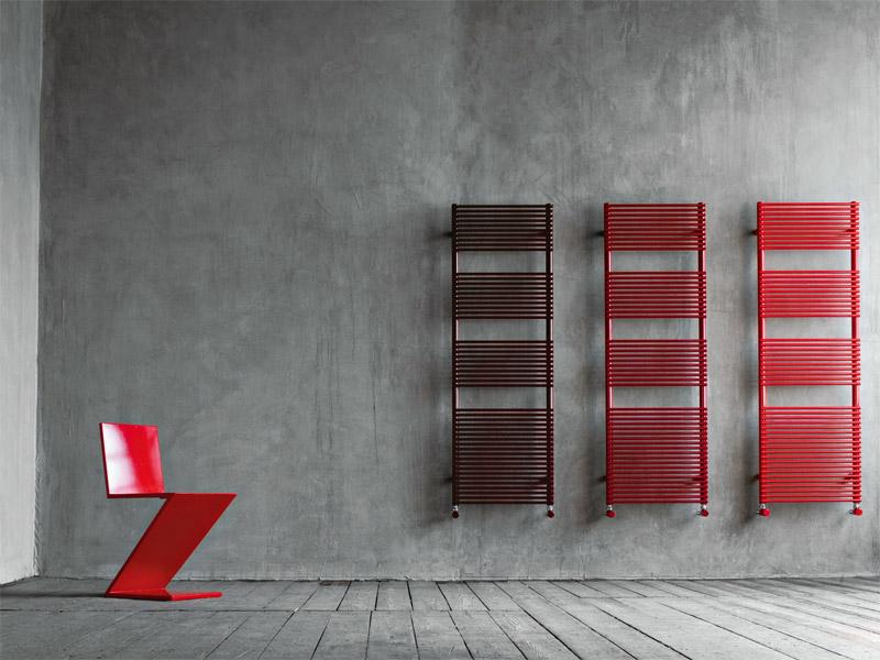 Разноцветные дизайн радиаторы
