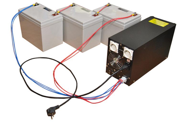 ИБП подключаемые к внешнему аккумулятору