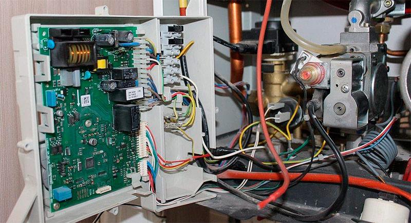 Электроника газового котла отопления
