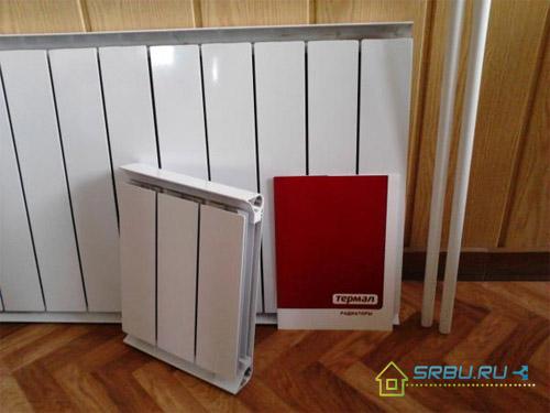 Экструзионный алюминиевый радиатор