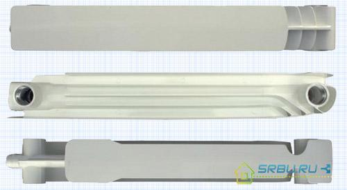 Секция литьевого радиатора