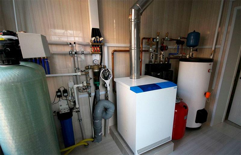 Дополнительное оборудование для напольного газового котла