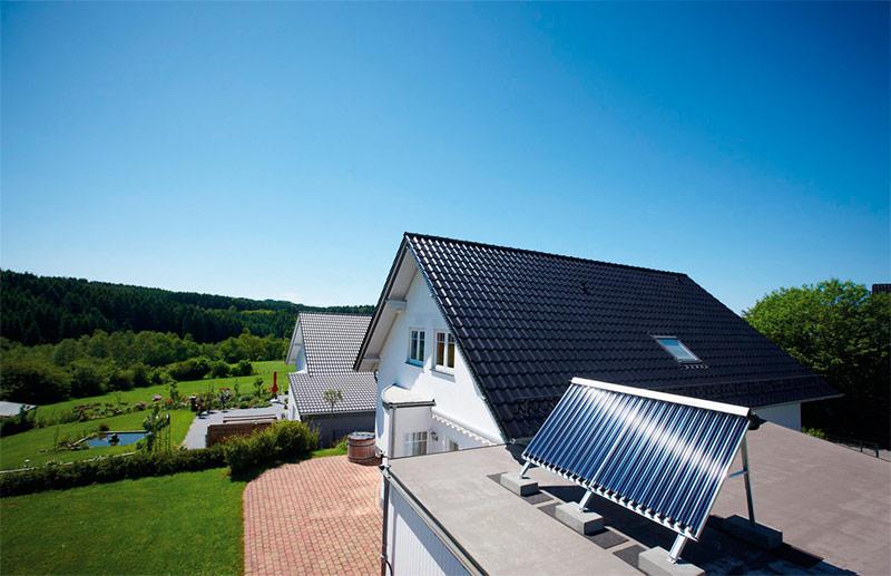 Расположение солнечного коллектора