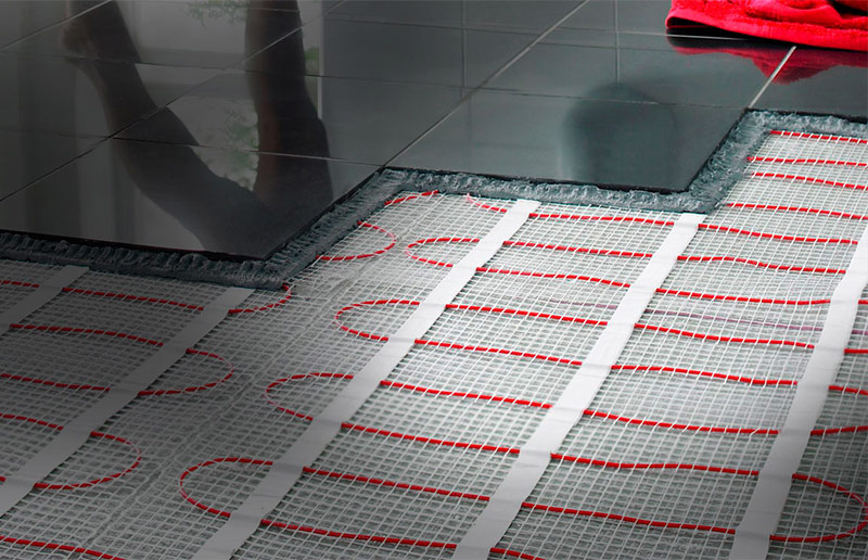 Нагревательный мат под плитку