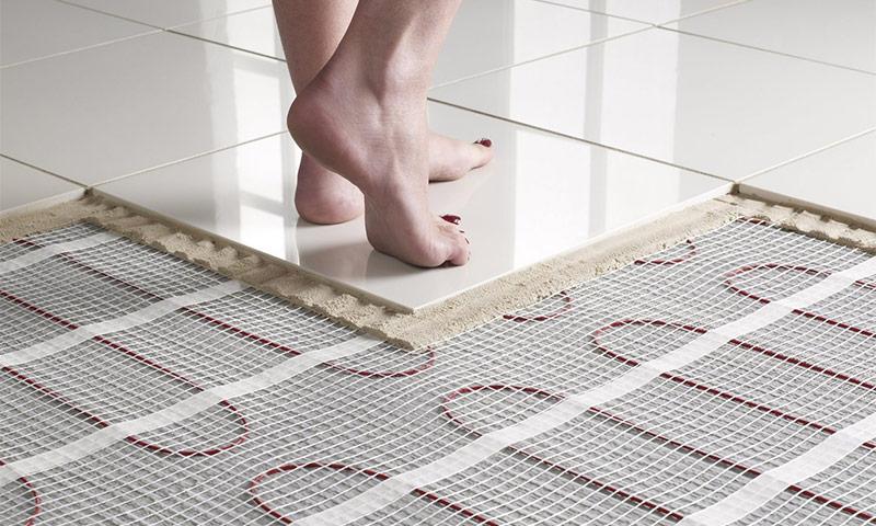 Какой теплый пол под плитку лучше применить