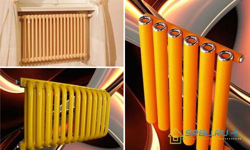 Дизайн стальных радиаторов
