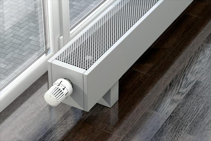 Механическая термостатическая арматура конвектора