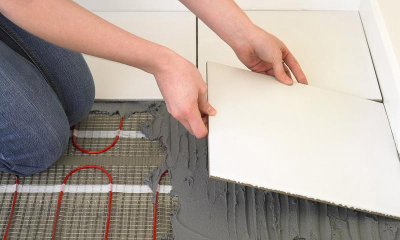 Как сделать электрический теплый пол - практические советы