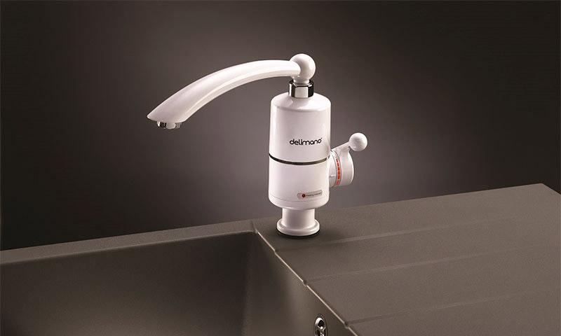 Отзывы о проточных электрических водонагревателях на кран Делимано 7a60c6e31864a