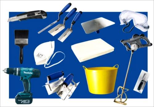 Инструменты необходимые для шпаклевки