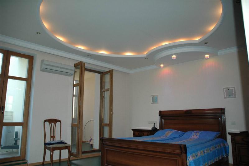 Зональный потолок из гипсокартона