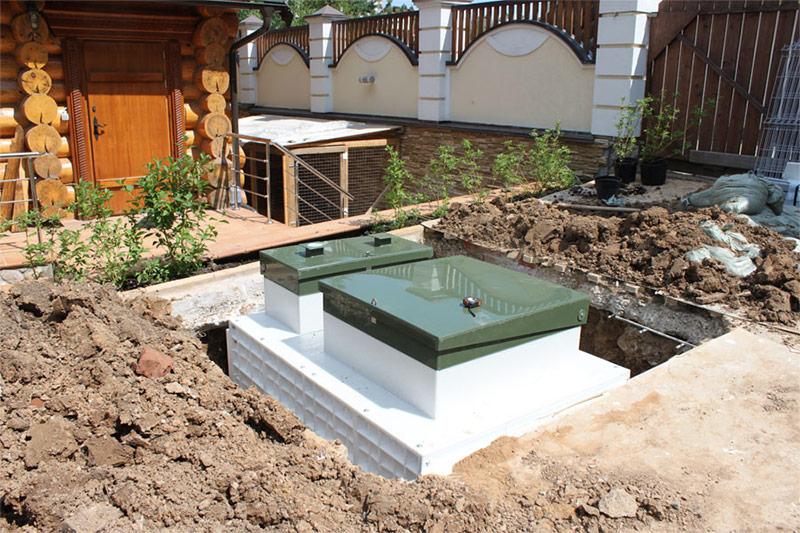 Монтаж системы глубокой очистки сточных вод