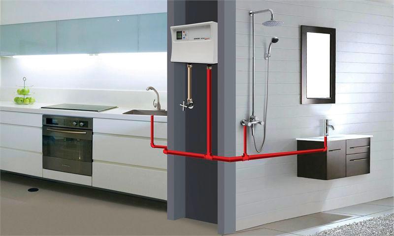 Напорный электрический водонагреватель