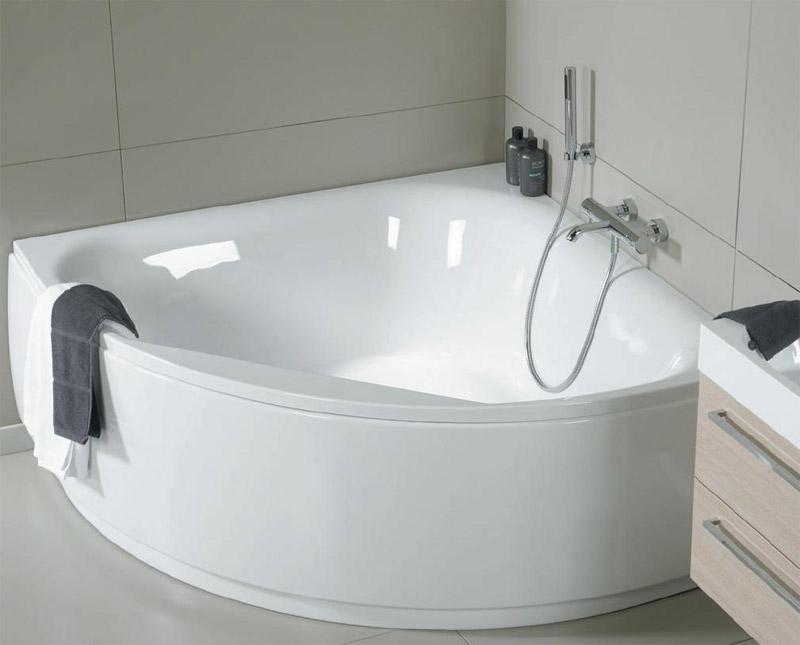 Угловая симметричная ванна