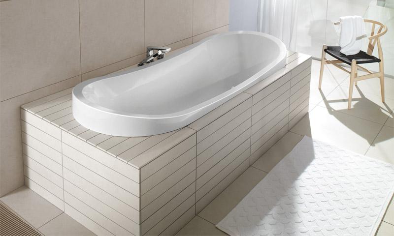 Виды ванн по материалу изготовления и формам