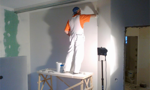 Финишная шпаклевка стен своими руками 914