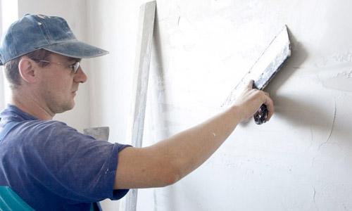 Шпаклевать стену цементным раствором купить бетон в махачкале на авито