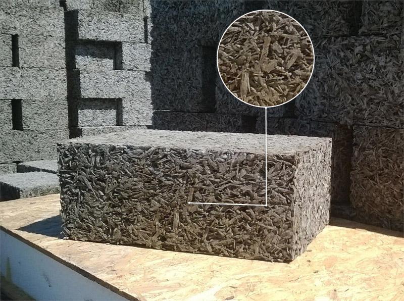 Древесный бетон гидроклещи для бетона