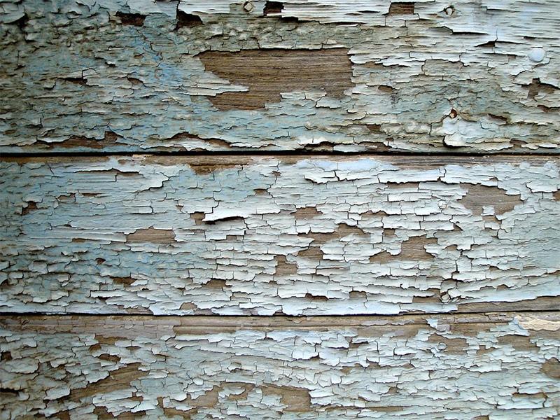 Старое покрытие масляной краски