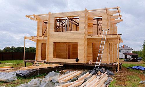 Двойной брус – новая технология строительства домов