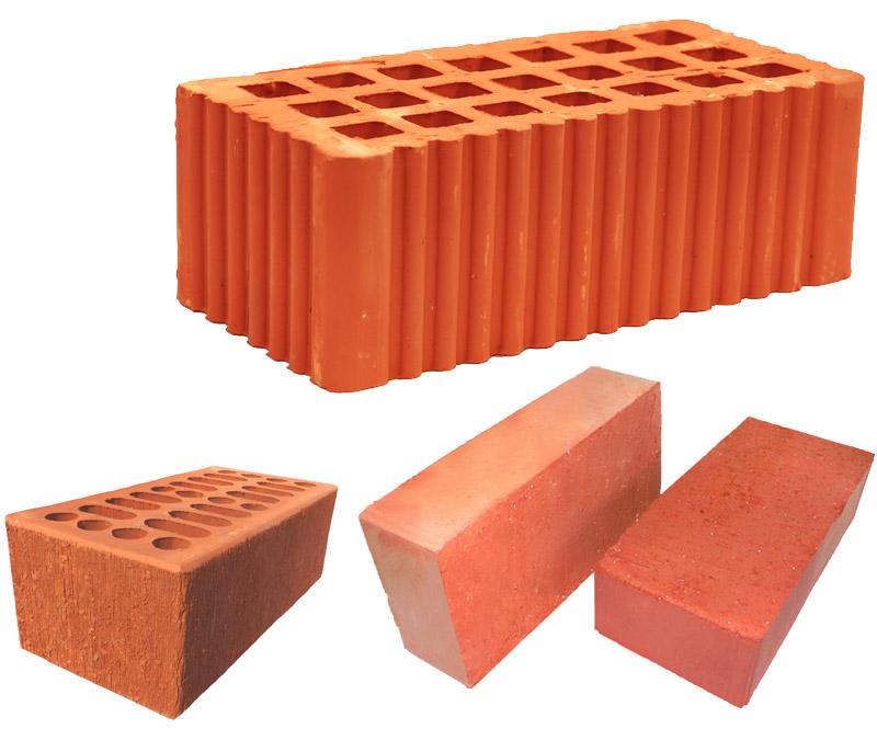 характеристика красного керамического кирпича
