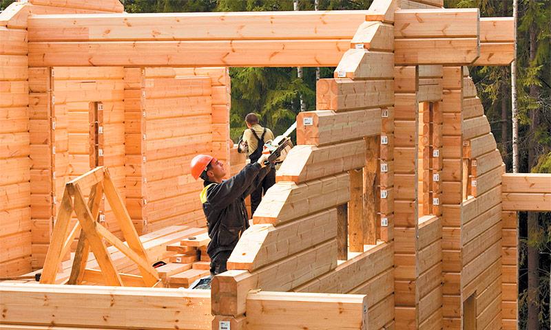 Какой брус лучше всего использовать для строительства дома. Блог строительная компания КРОСТ город Красноярск