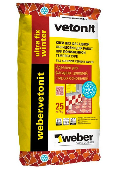 Weber Vetonit Ultra Fix Winter