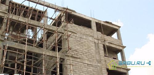 Многоэтажное строительство из пеноблоков