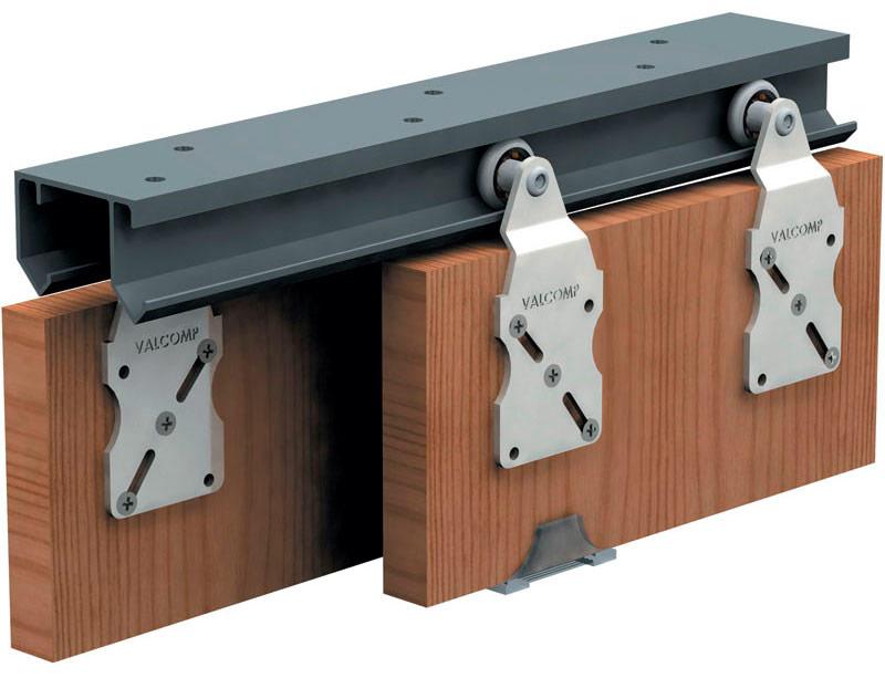 Одинарный дверной механизм