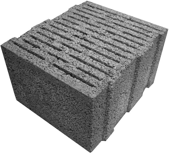 Крупноформатный керамзитобетонный блок