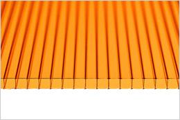 Оранжевый поликарбонат