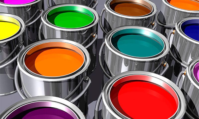 Виды красок для внутренних и наружных работ