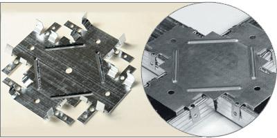 Краб для соединения CD профиля на одном уровне