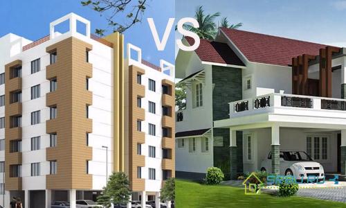 Что лучше построить частный дом или квартиру