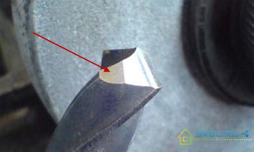 Подточка задней поверхности