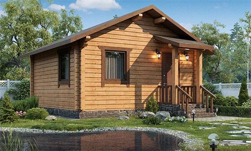 Профилированный деревянный брус: лучшее решение для дома