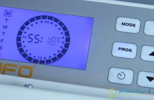 Электронная система управления с таймером