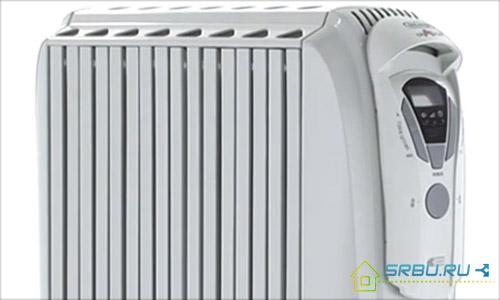Масляный радиатор с защитным кожухом