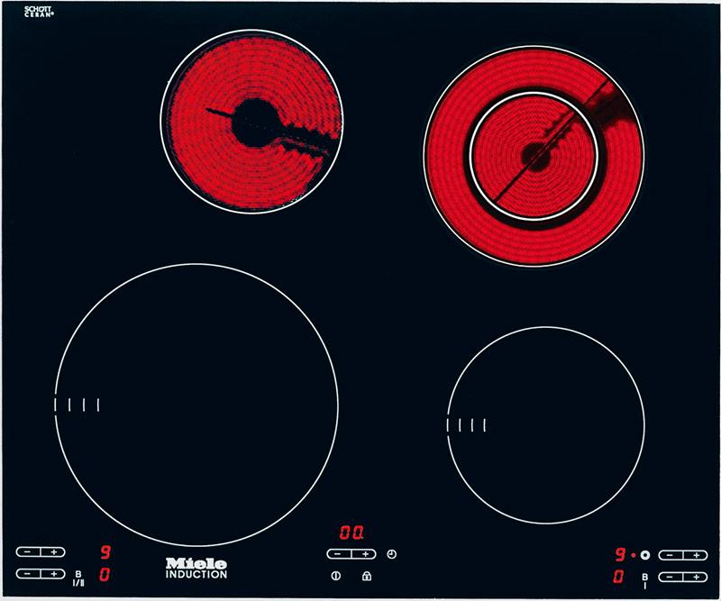 Комбинированная варочная панель - индукция и Hi-Light