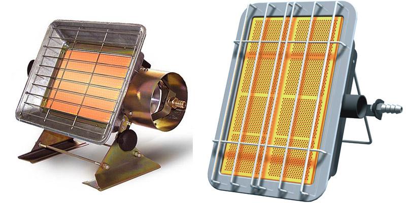 Газовый ИК нагреватель