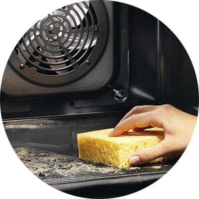 Пиролизная очистка духовки