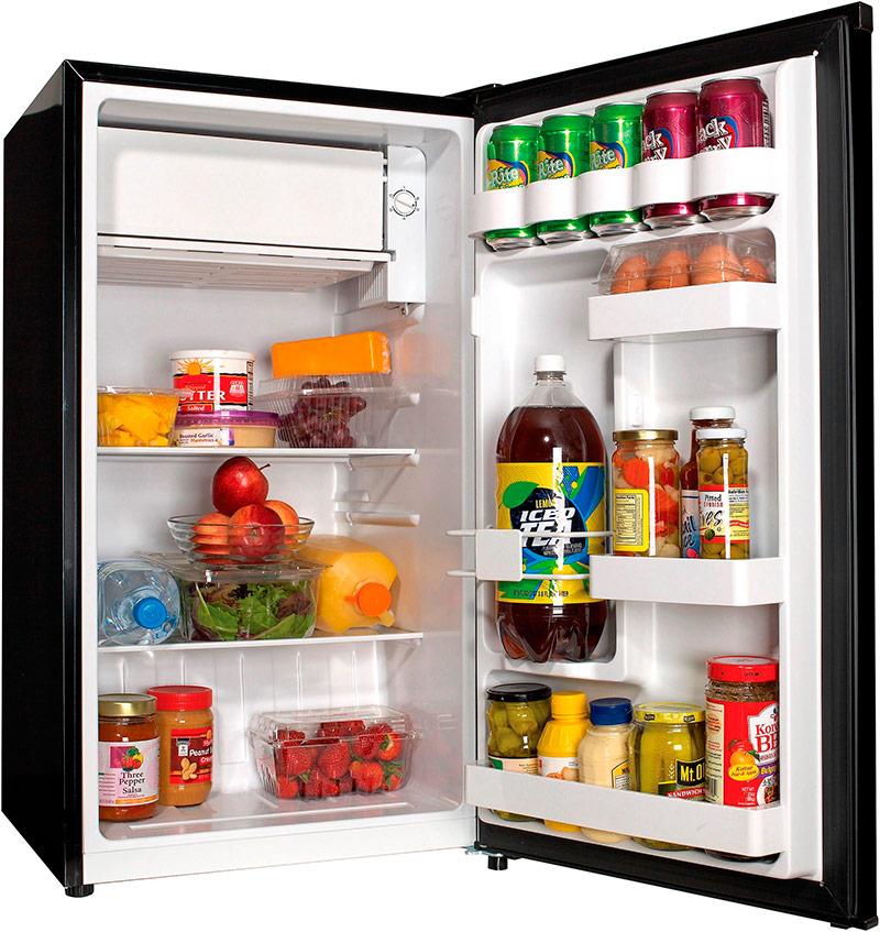 Двухкамерный холодильник с верхним расположением морозилки