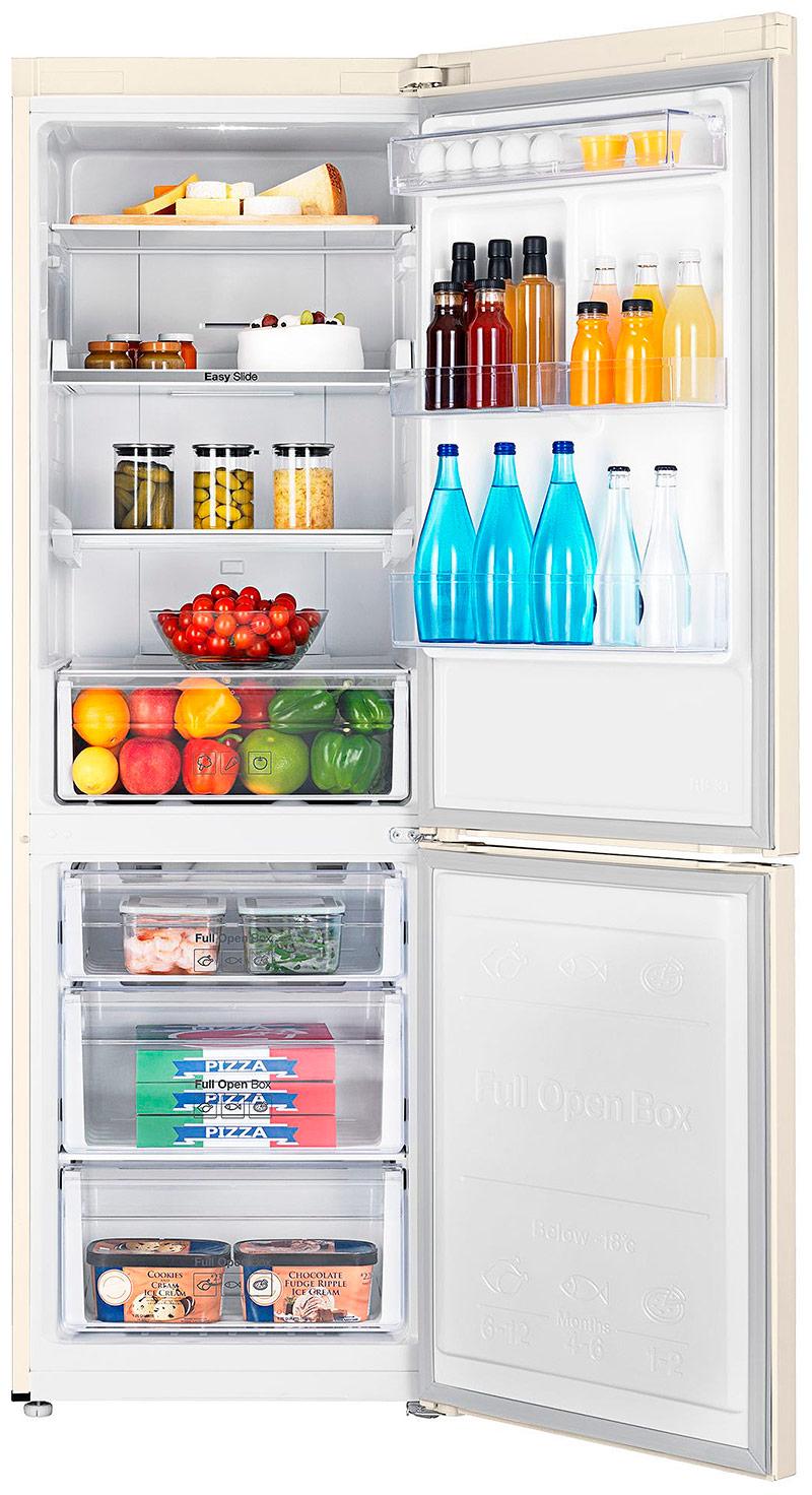 Двухкамерный холодильник с нижним расположением морозилки