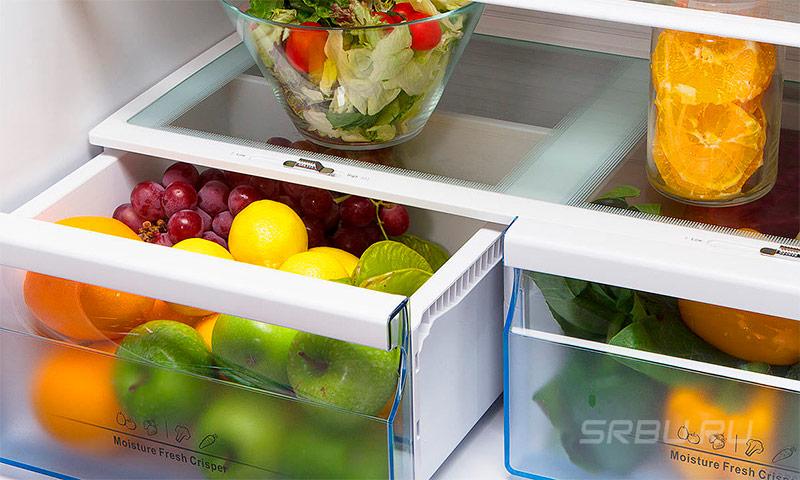Прозрачные контейнеры для овощей